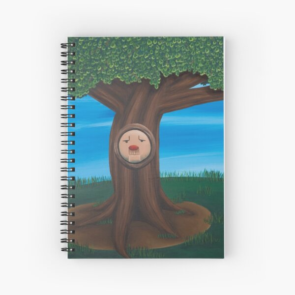 Lover's Tree Spiral Notebook