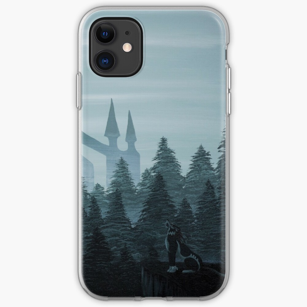 Misty Castle iPhone Case & Cover