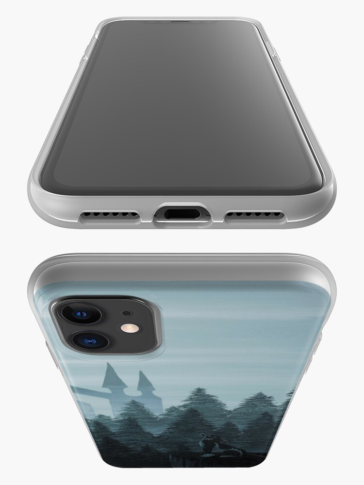 Alternate view of Misty Castle iPhone Case & Cover