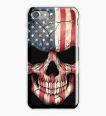 American Flag Skull iPhone Case/Skin