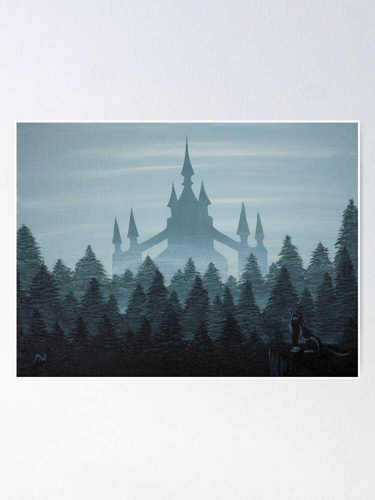 Alternate view of Misty Castle Poster