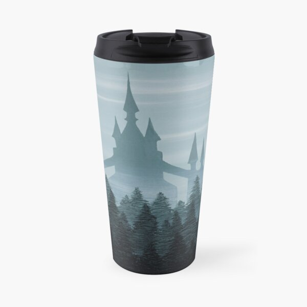 Misty Castle Travel Mug
