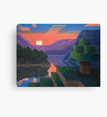 Dusk Squared Canvas Print