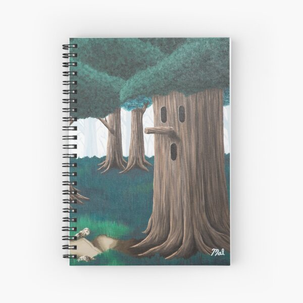 Whispy Woods Spiral Notebook