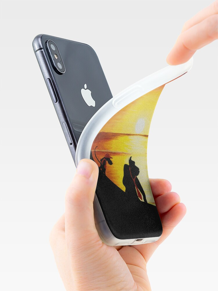 Alternate view of Sunset Shore iPhone Case & Cover