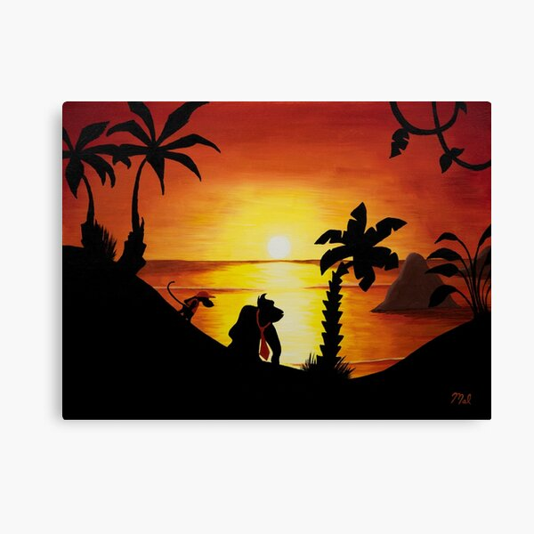Sunset Shore Canvas Print