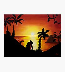 Sunset Shore Photographic Print