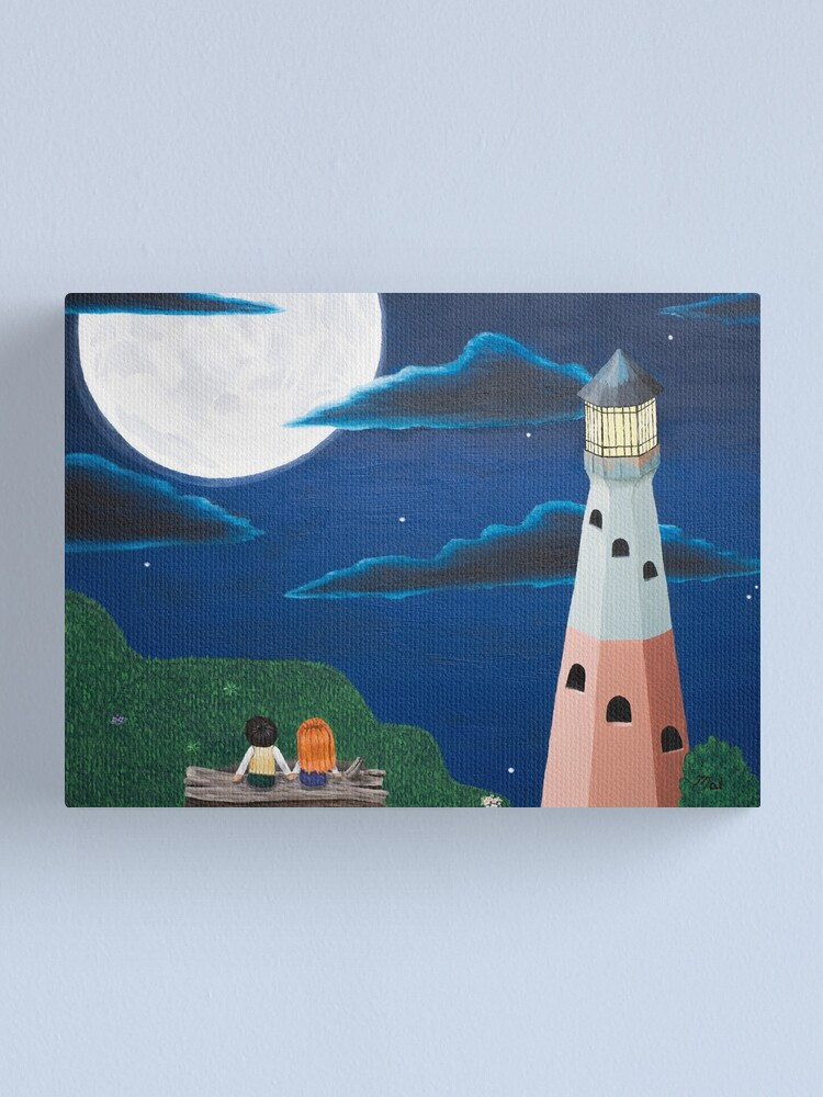 Alternate view of Together Canvas Print