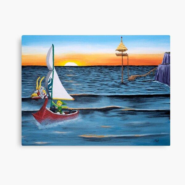 Outset Island Canvas Print
