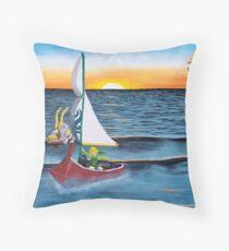 Outset Island Throw Pillow
