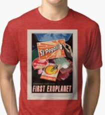 NASA JPL Exoplanet Travel Bureau: 51 Pegasi b Tri-blend T-Shirt