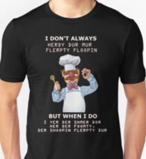 Swedish Chef shirt Unisex T-Shirt