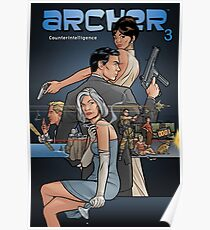 counter intelligence archer Poster
