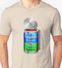 Campbell's Soup Revisited - Blue and Green   Unisex T-Shirt