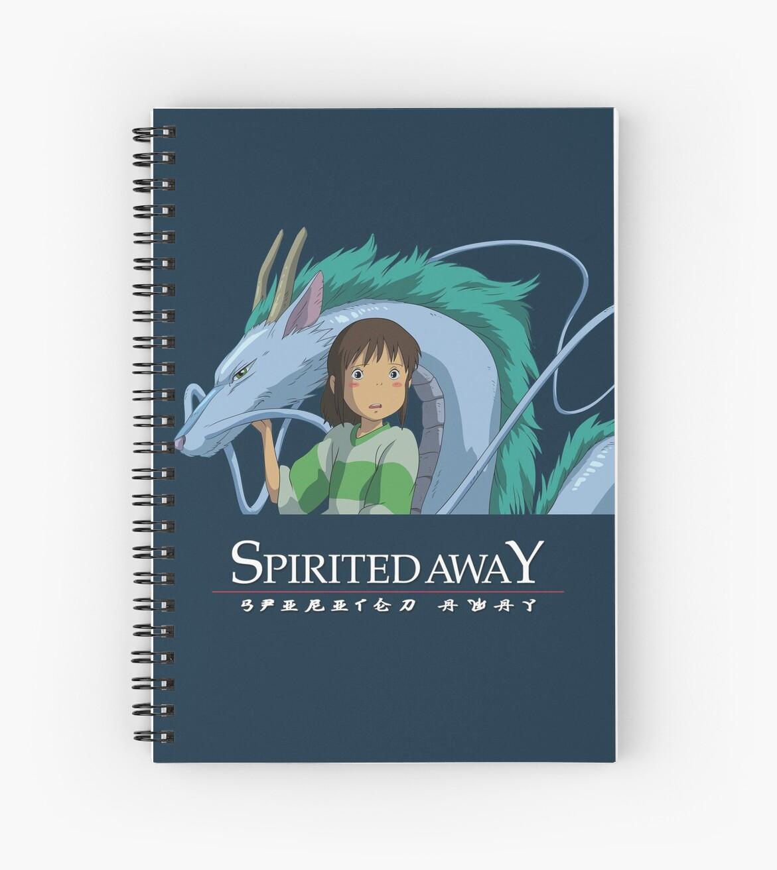 Spirited Away Chihiro and Haku-Studio Ghibli by Lhethril