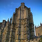 wells cathedral by Bruce  Dickson
