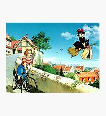 Kiki's Delivery Service-Studio Ghibli Photographic Print