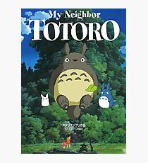My Neighbor Totoro-Studio Ghibli Photographic Print