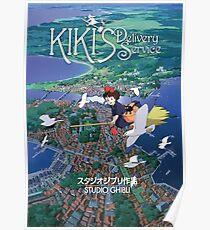 Kiki's Delivery Service-Studio Ghibli Poster