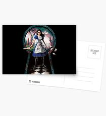 Alice: Madness Returns Postcards