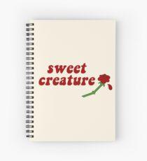 Sweet Creature Rose Design Spiral Notebook