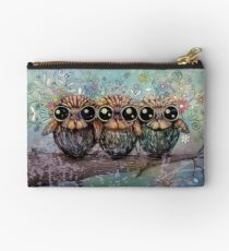three little night owls Studio Pouch