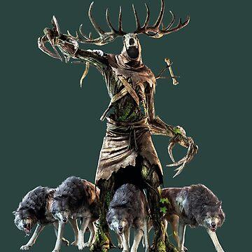 The Witcher 3 Wild Hunt-Kernun Leshen by Lhethril
