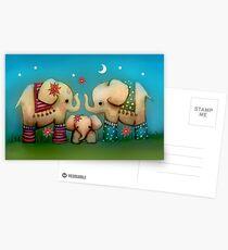 baby elephant Postcards
