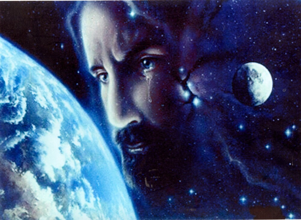 christ over the earth by David s Ellens
