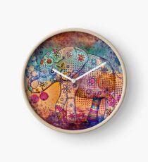indie elephant Clock