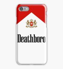"Marlboro ""Deathboro"" Logo iPhone Case/Skin"