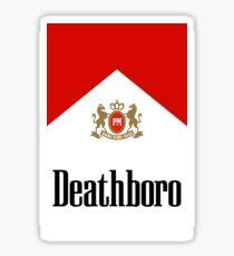"Marlboro ""Deathboro"" Logo Sticker"
