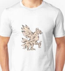 Cuauhtli Glifo Eagle Tattoo Unisex T-Shirt