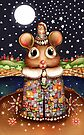 Little Bright Eyes the Radiant Christmas Mouse by Karin Taylor