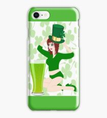 On St.Patrick's Day (1038 Views) iPhone Case/Skin