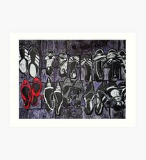 My Red Shoes Art Print
