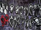 """My Red Shoes by Belinda """"BillyLee"""" NYE (Printmaker)"""