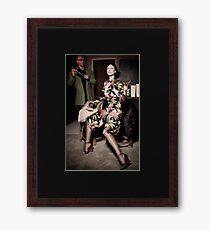 Bombay Fashion Framed Print