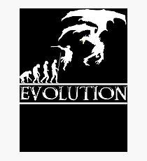 Skyrim Evolution Photographic Print