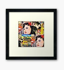 Stood Up In The 50s Duo Framed Print
