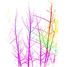 Rainbow Branches by EvePenman