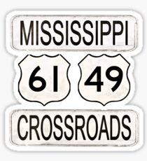 Mississippi Crossroads Sticker