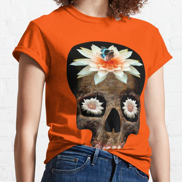 Lotus Skull Classic T-Shirt