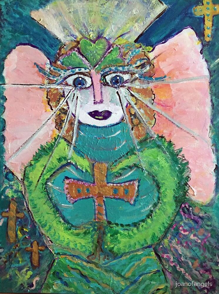Queen Goddess of Angels  by joanofangels
