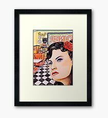 Stood Up In The 50s Her story Framed Print