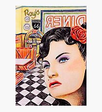 Stood Up In The 50s Her story Photographic Print