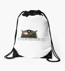 Exterminate Drawstring Bag