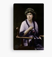 Lucy Burns 1913 Canvas Print