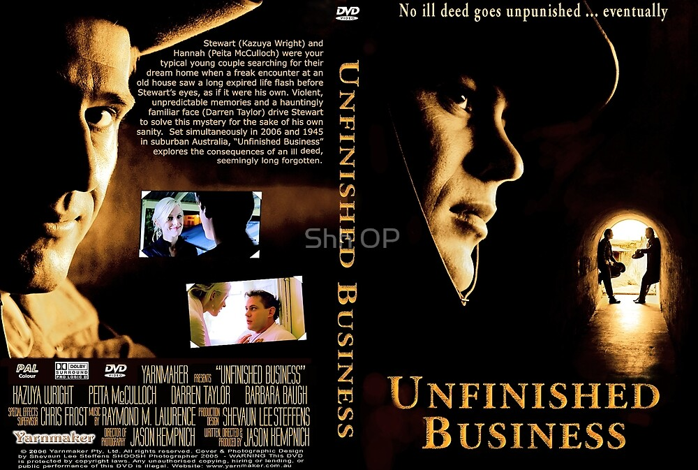Unfinished Business Cover Art by Shh op!