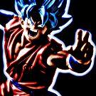 SSJG Goku  by Webitect
